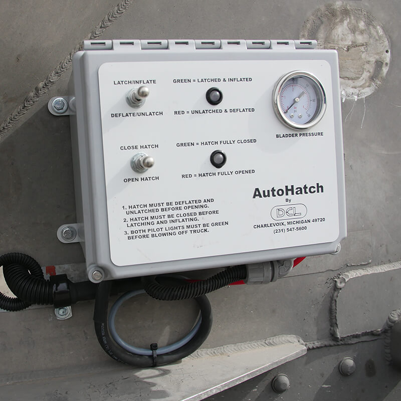 Control panel for Autohatch™